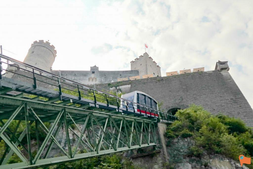 Salzburg Funicular to the Hohensalzburg Fortress, Salzburg, Austria