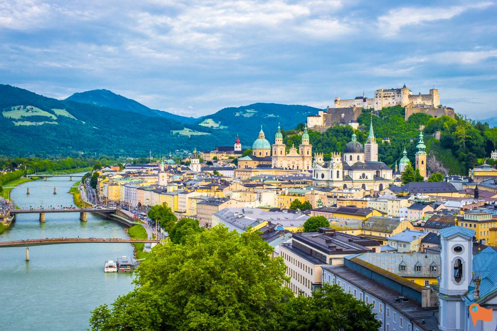Solo trip to Salzburg, Austria