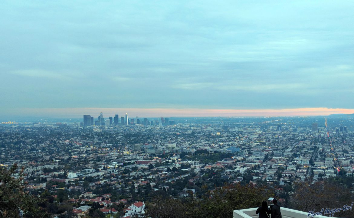 Two days in Los Angeles, California, USA