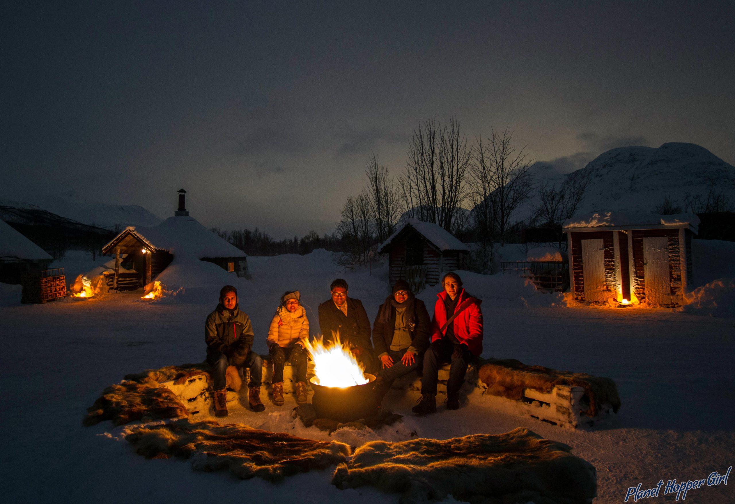 A Aurora Chasing Camp Site, Tromso,Norway