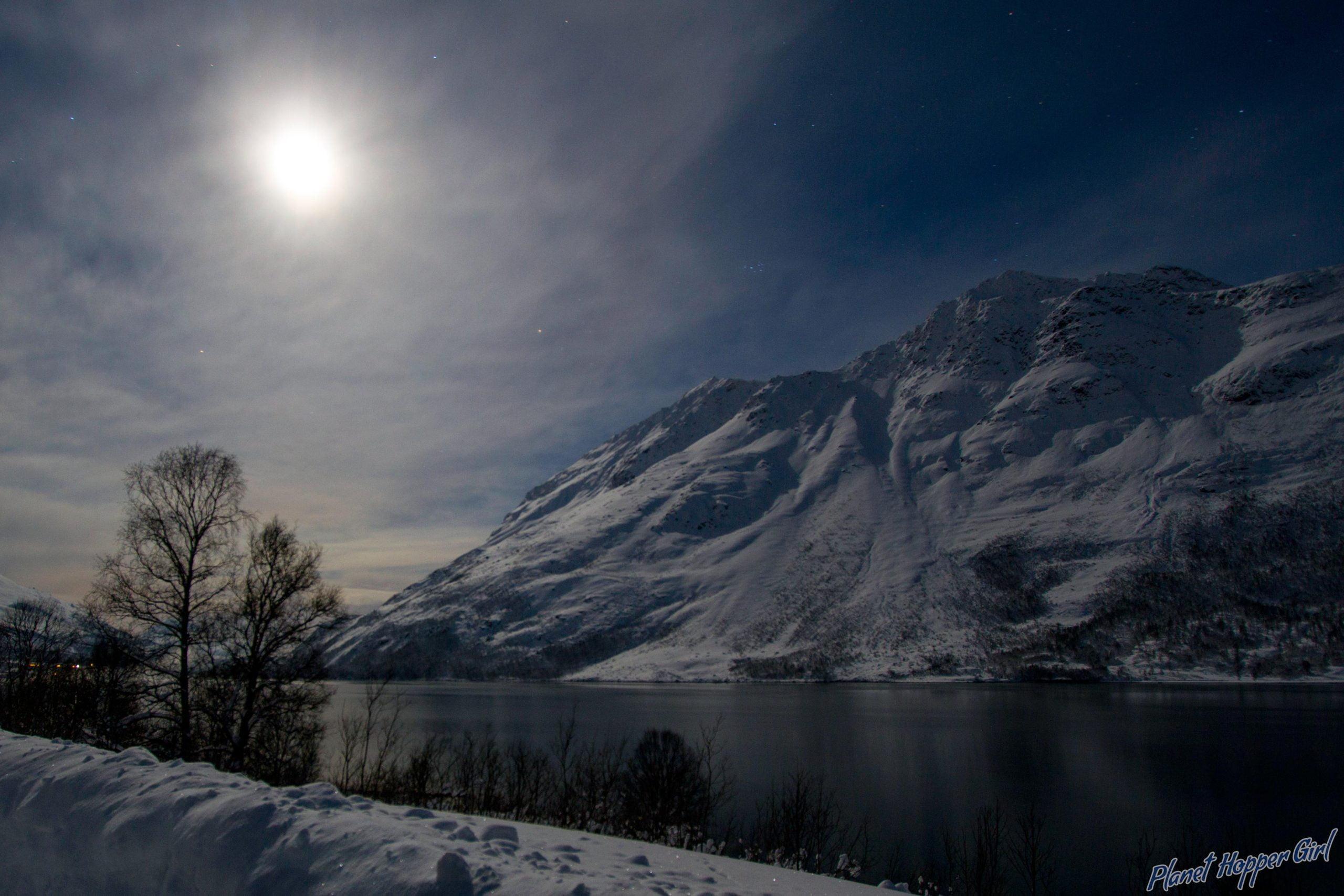 Aurora Chasing in Kvaloya, Norway
