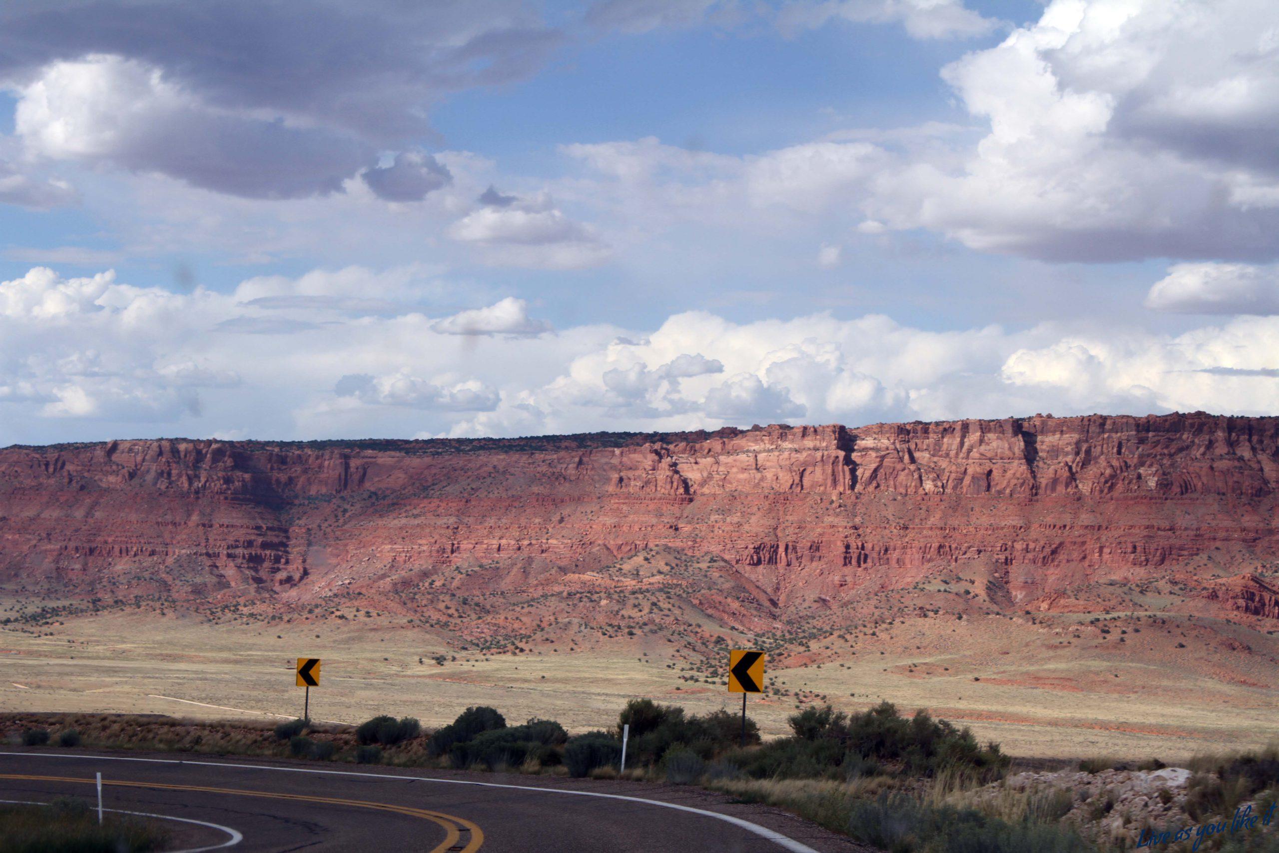 Approaching Grand Canyon, Arizona