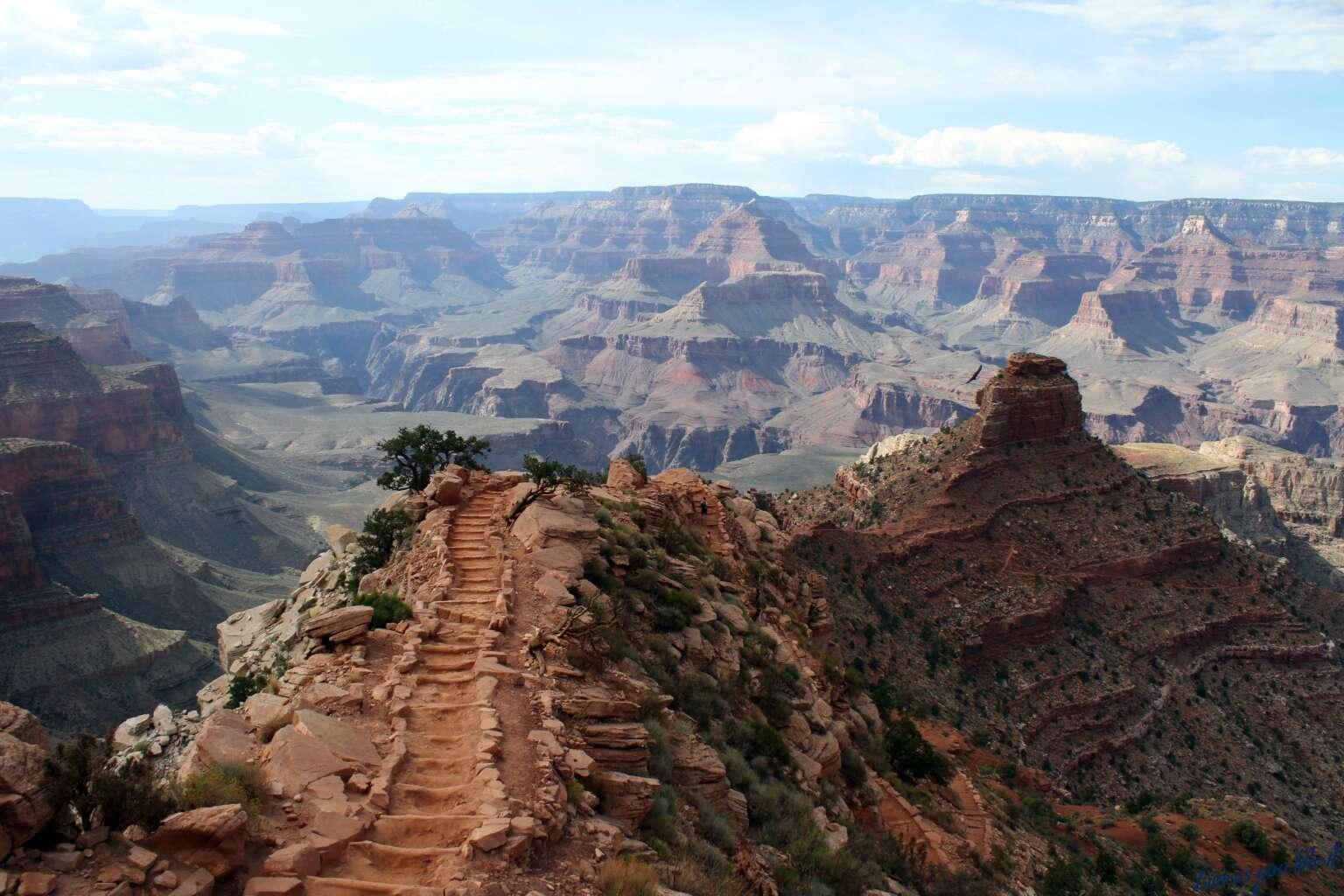 Steps in Grand Canyon South Rim, Arizona
