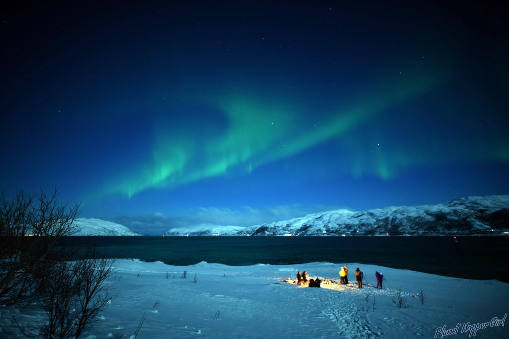 Planet Hopper Girl: Northern Lights spotted in Tromso, Norway