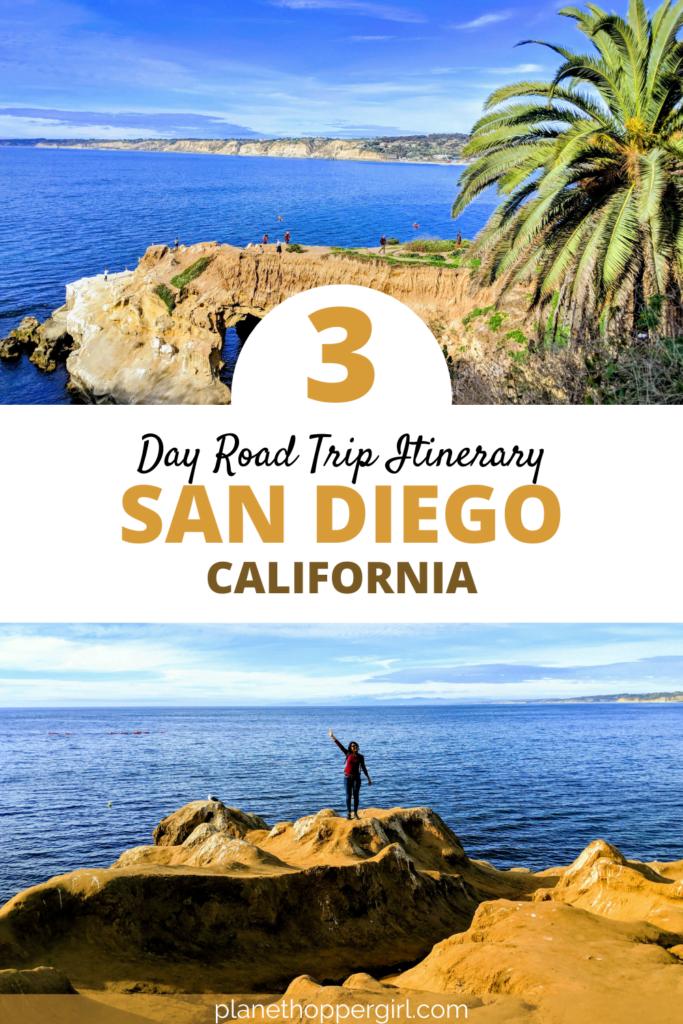 Three days in San Diego, California, USA
