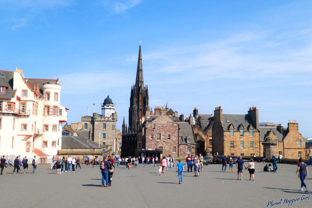 Edinburgh Castle Square, Scotland