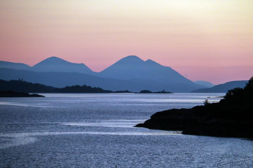 Sunset View from Strome Castle, Scotland