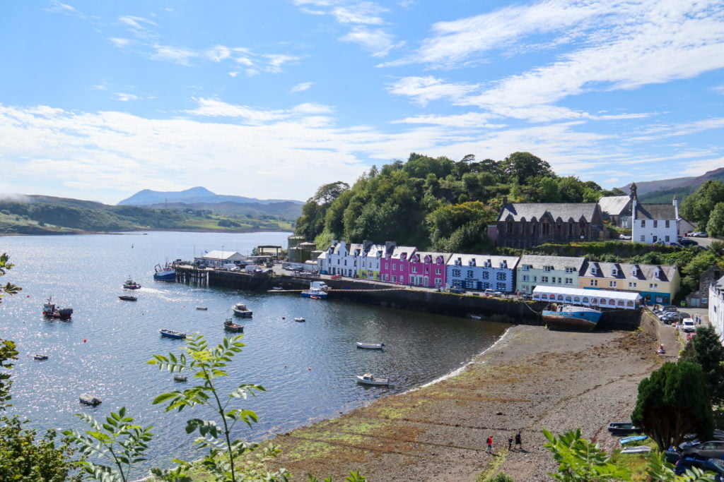 Portree Town, Isle of Skye, Scotland