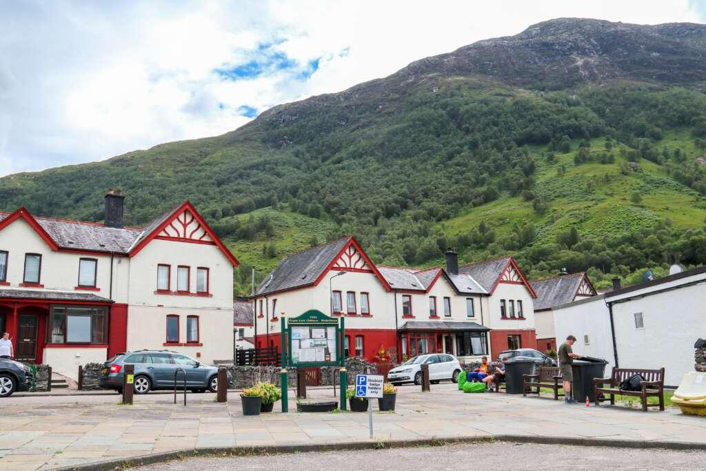 Kinlochleven Village, Glencoe, Scotland