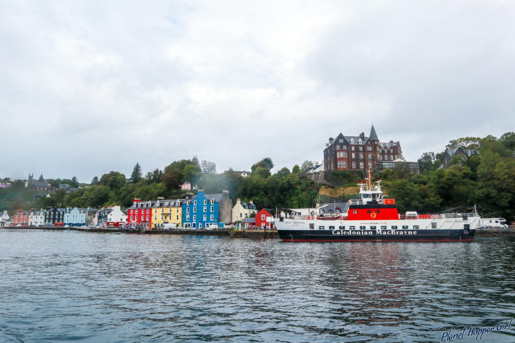 Tobermory Town, Isle of Mull, Scotland