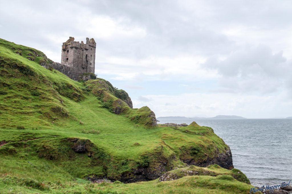 Gylen Castle, Scotland