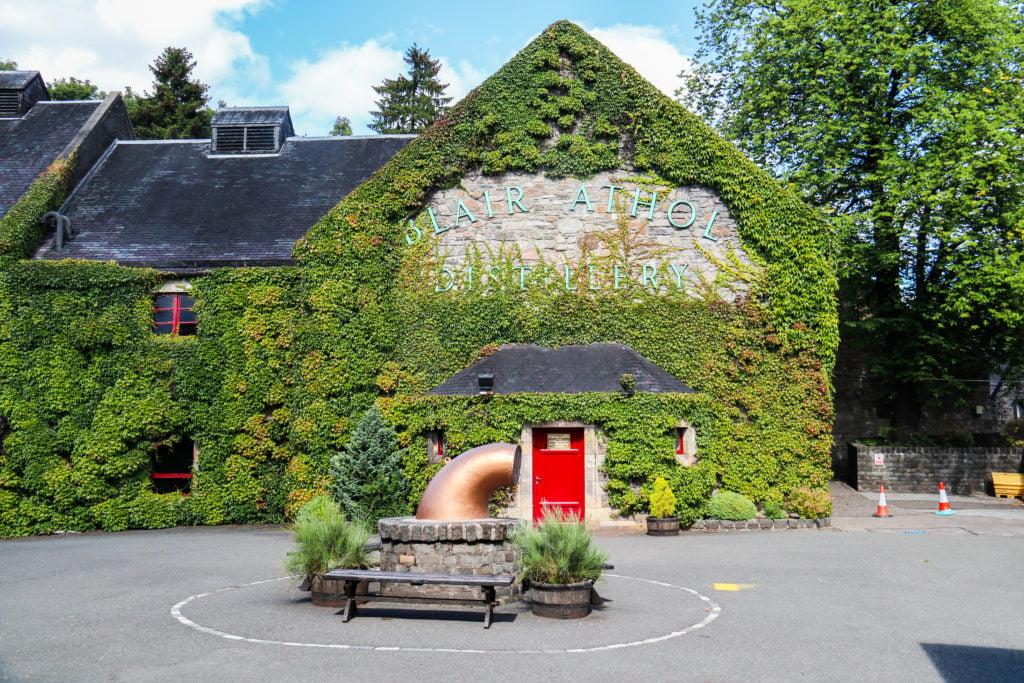 Blair Athol Distillery, Pitlochry Town, Scotland