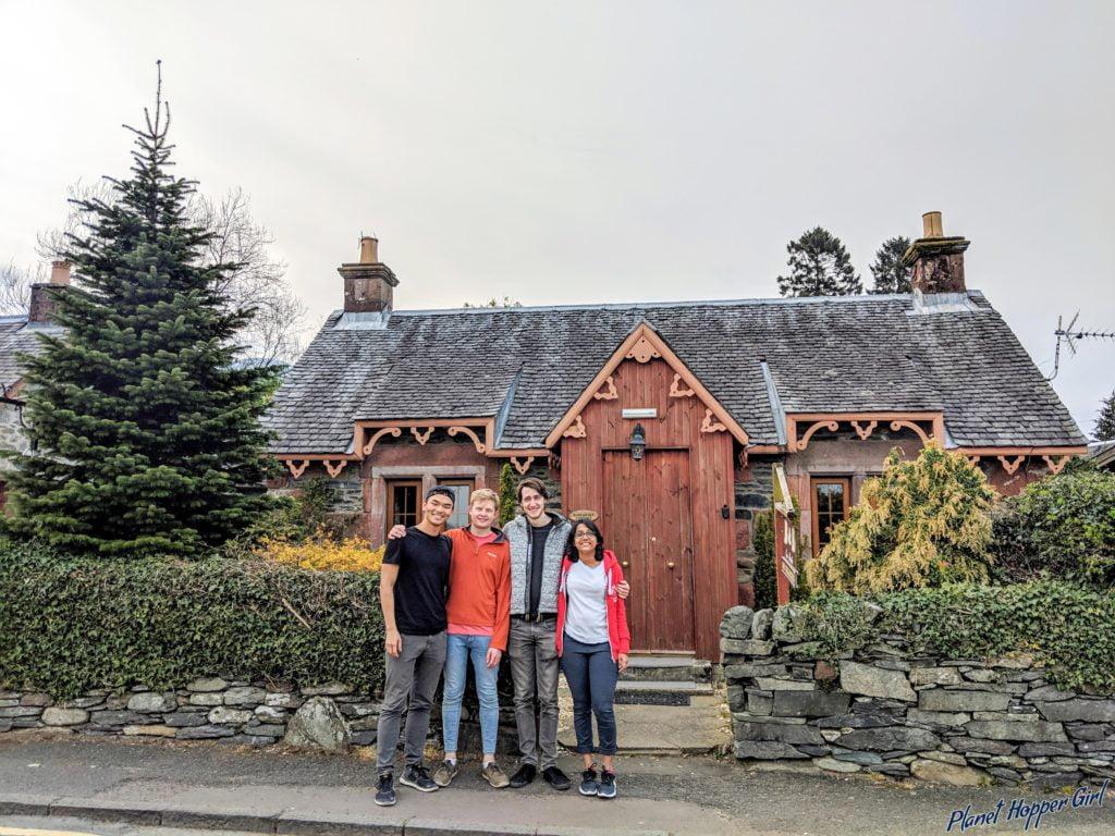 Luss, Loch Lomond and the Trossachs,Scotland