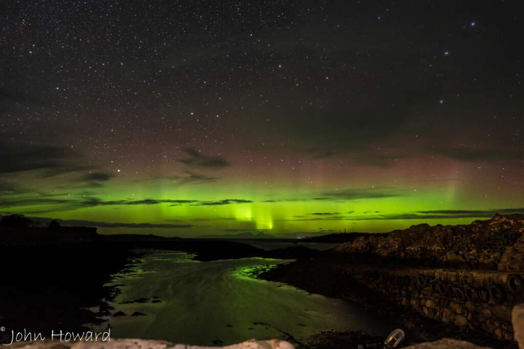 Northern Lights in Isle of Mull