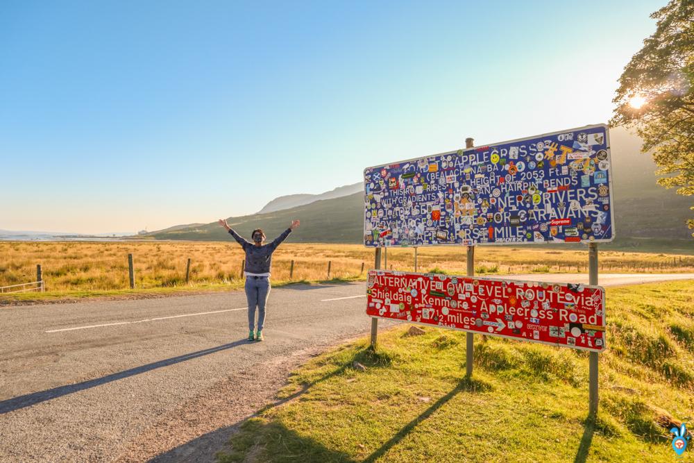 Scotland Road Trip, NC500, Apple Cross Pass