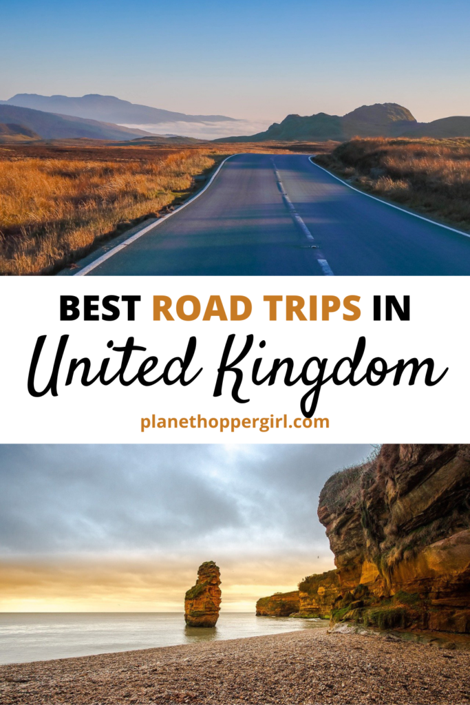 Best Road Trips in  UK
