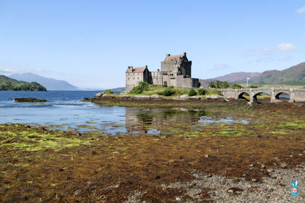 Scottish Castles Eilean Donan Castle Day