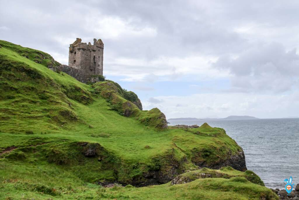 Scottish Castles Gylen Castle Isle of Kerrera