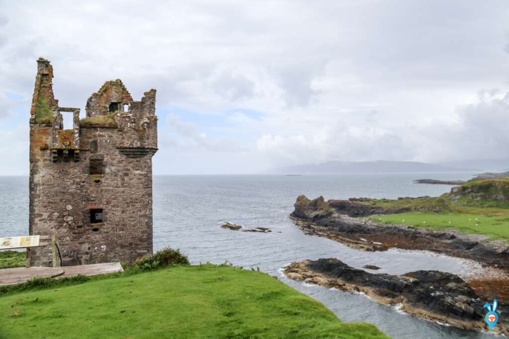 Scottish Castles Gylen Castle Isle of Kerrera