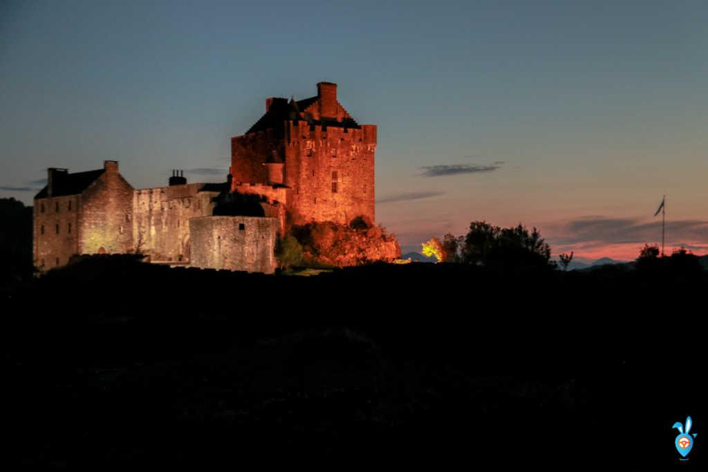Scottish Castles Eilean Donan Castle Day