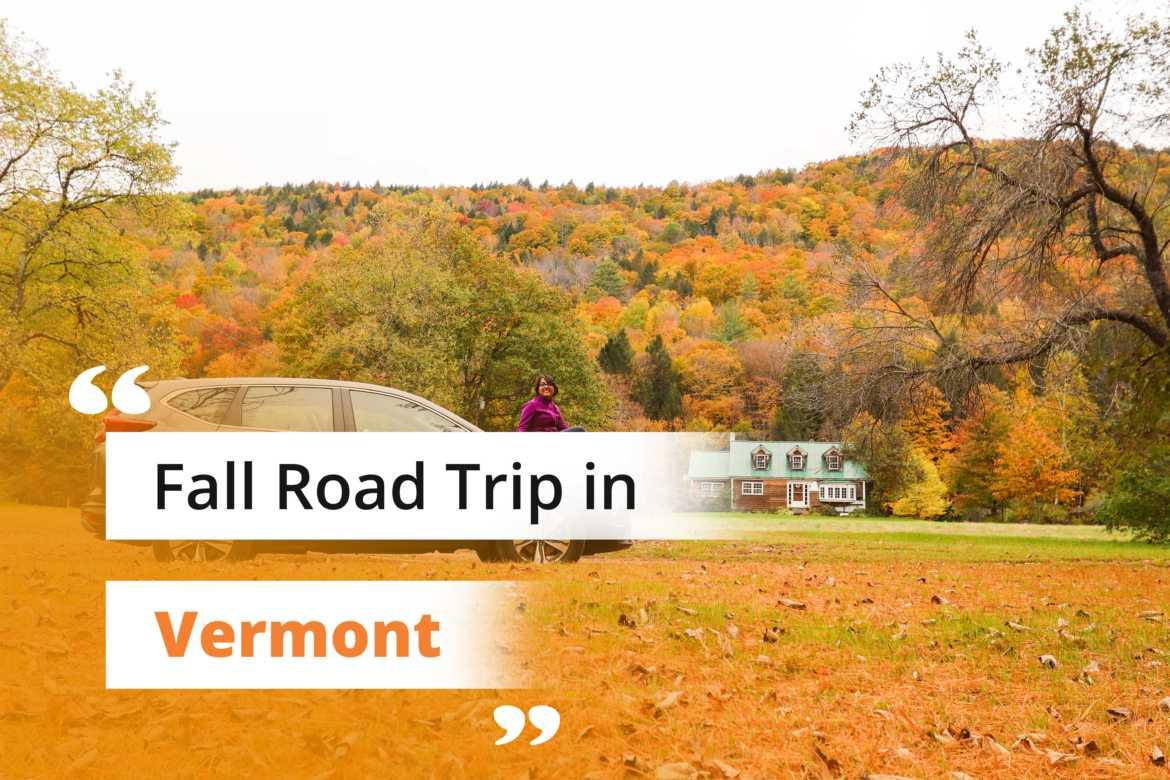 Fall Road Trip in Jamaica, Vermont