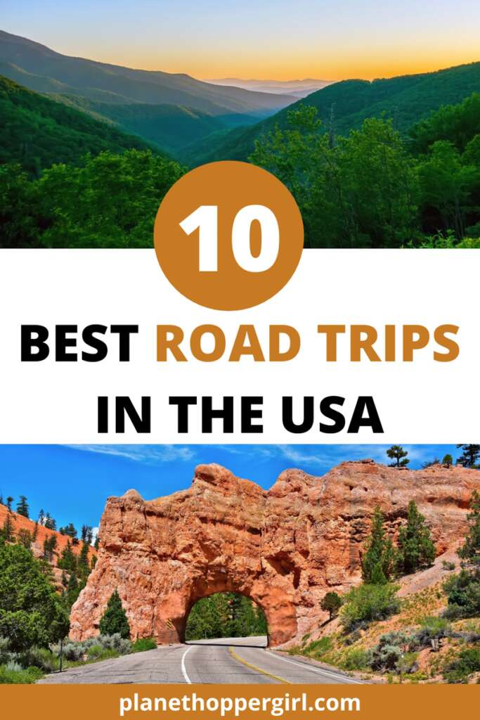 Best Road Trips in USA Pin 2