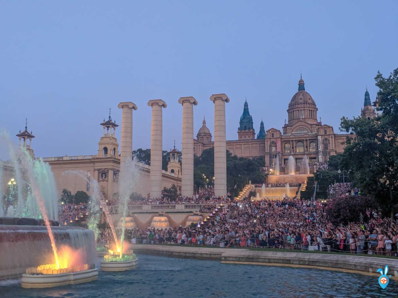 One Week in Barcelona in Summer - Magic Fountain