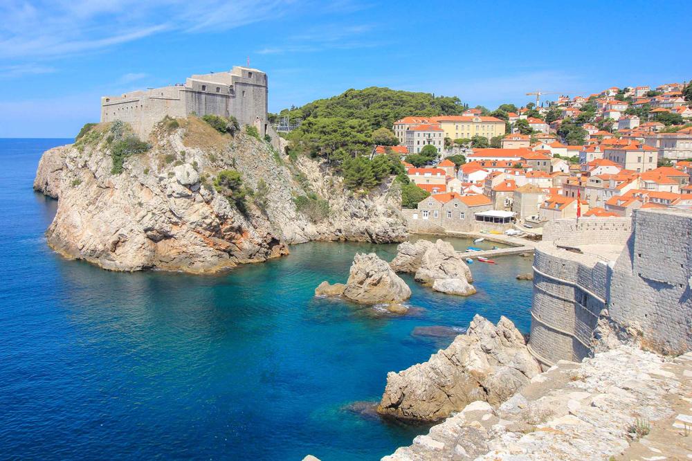 Spring in Dubrovnik, Croatia
