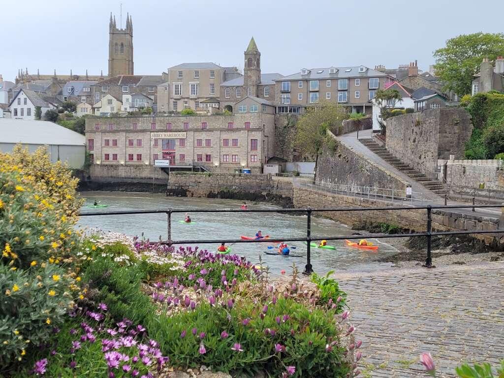 Penzance Harbour, Cornwall