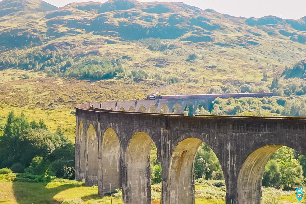 Glenfinnan Viaduct Jacobite Train