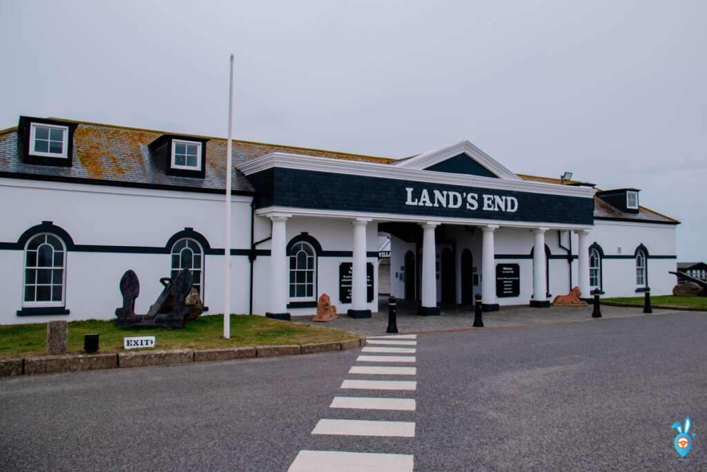 Lands end entrance, Cornwall