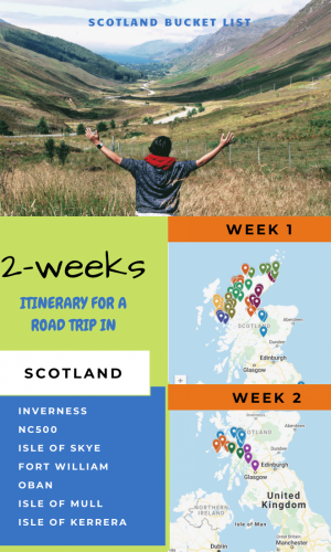 Scotland Road Trip Itinerary